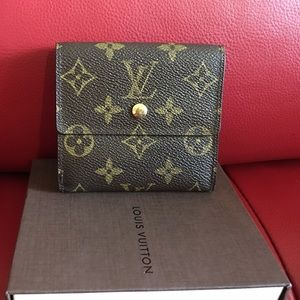 Authentic Louis Vuitton Short Wallet